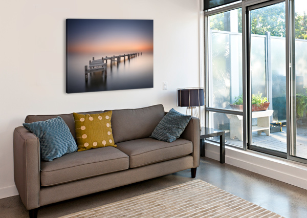 OLD PIER II 1X  Canvas Print