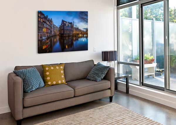BLUE AMSTERDAM 1X  Canvas Print