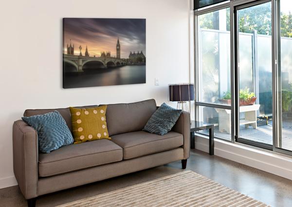 BIG BEN, LONDON 1X  Canvas Print