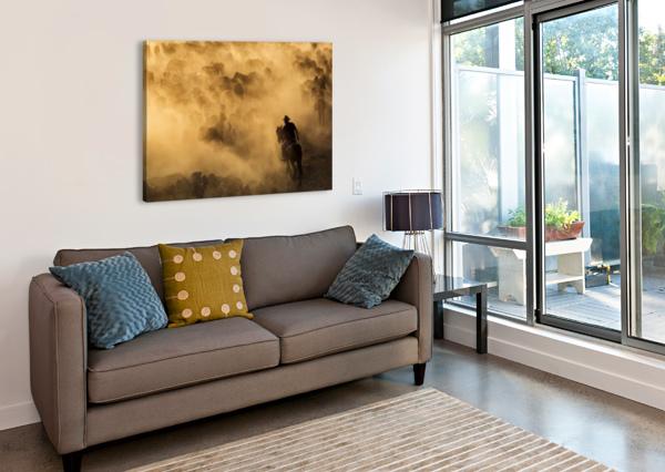 CAPPADOCIA WILD HORSES 1X  Canvas Print