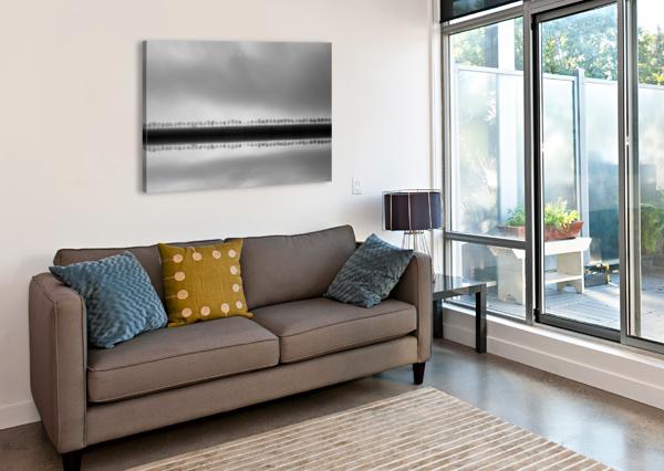 POLDERLANDSCAPE IN REFLECTION 1X  Canvas Print