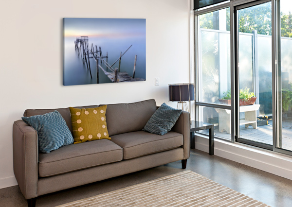 THE OLD PIER 1X  Canvas Print