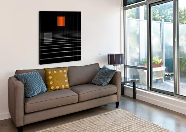 EIDEM SPATIO 1X  Canvas Print