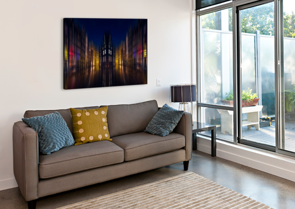 OUR HOUSE IN THE MIDDLE OF THE STREET 1X  Canvas Print