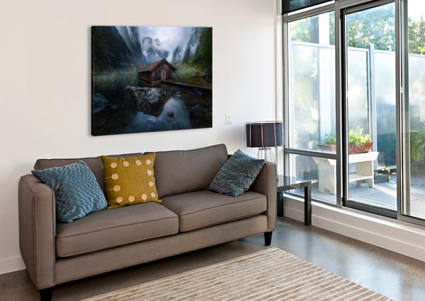 OBER-VIEW 1X  Canvas Print
