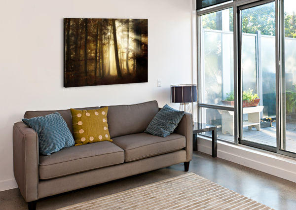 A NEW DAY 1X  Canvas Print