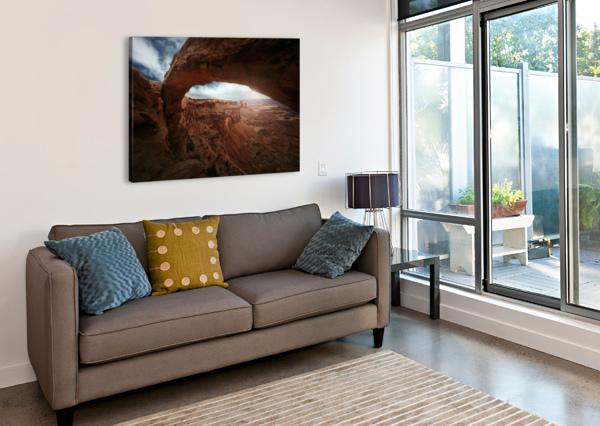 MESA ARCH 1X  Canvas Print