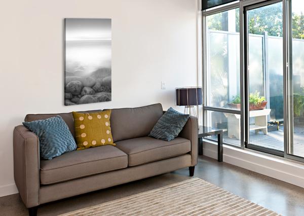 MOOG ISLAND 1X  Canvas Print