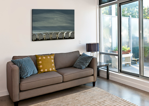A QUIET SPOT BY THE SEA, JUST TO 'BE' ... 1X  Canvas Print