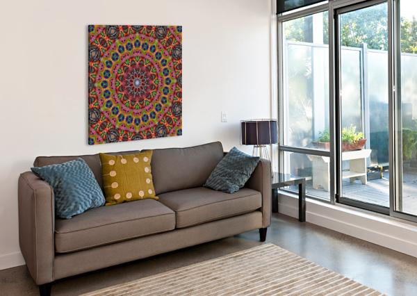 CHERGA MANDALA I ART DESIGN WORKS  Canvas Print