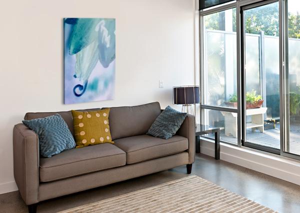 BLUE GRACE VORTEXSTYLE   Impression sur toile