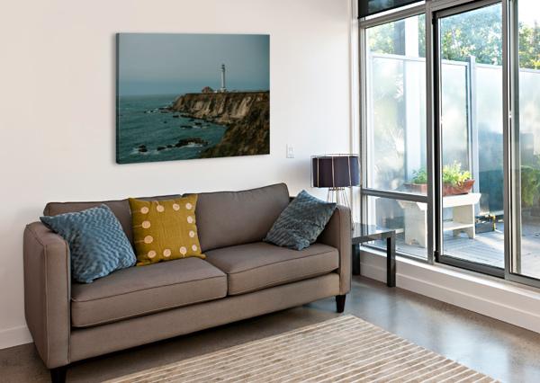 POINT ARENA LIGHTHOUSE CALIFORNIA STEPHANIEALLARD  Impression sur toile