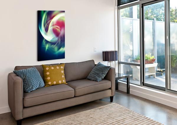 ABSTRACT ART XIII ART DESIGN WORKS  Canvas Print