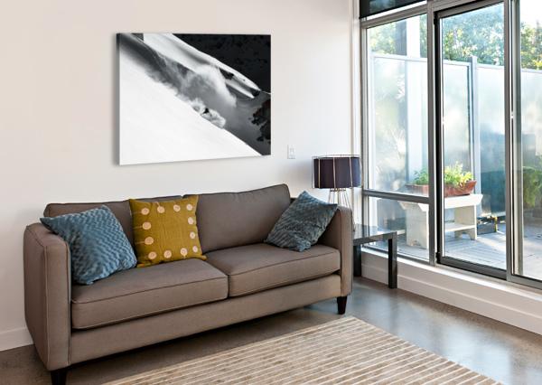 CLOUD OF SNOW 1X  Canvas Print
