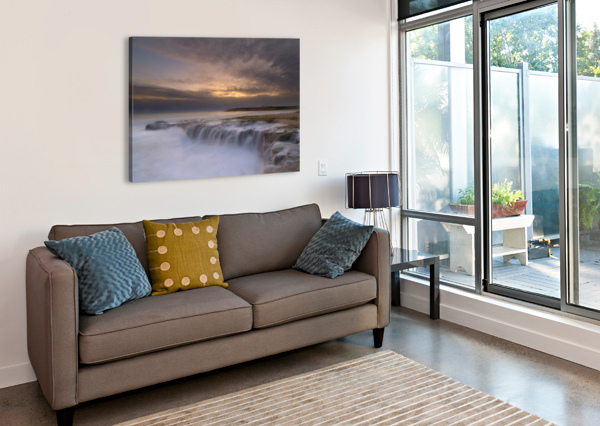 WATERFALL 1X  Canvas Print