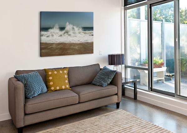 BIG WAVE STEPHANIEALLARD  Impression sur toile