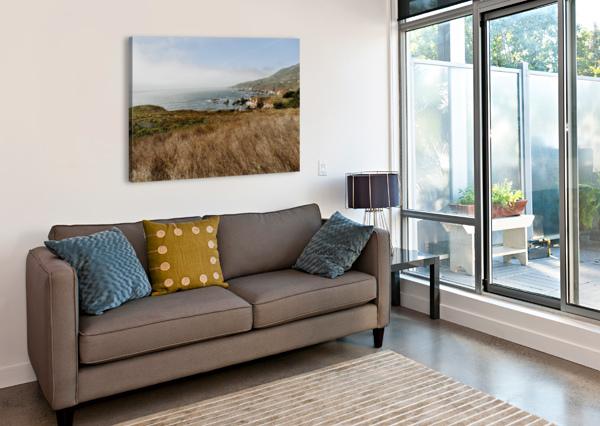 CALIFORNIA COAST STEPHANIEALLARD  Impression sur toile
