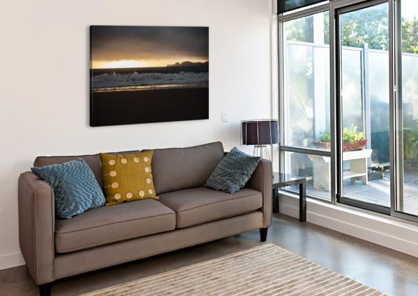 SAN FRANCISCO SUNSET STEPHANIEALLARD  Impression sur toile