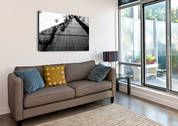 THE SKYSCRAPER BENTIVOGLIO PHOTOGRAPHY  Canvas Print