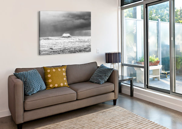 ROGUE WAVE ANDREW LEVER GALLERY  Canvas Print