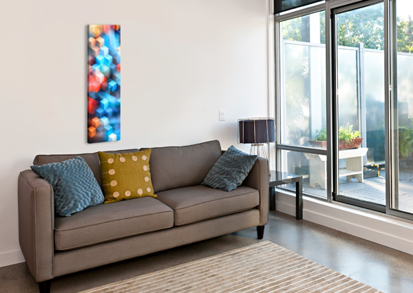 ABSTRACT DESIGN I   PANORAMIC ART DESIGN WORKS  Canvas Print