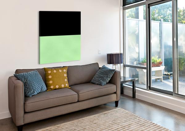 ABSTRACT GREEN GLITTER RIZU_DESIGNS  Canvas Print