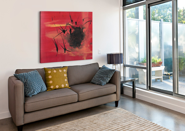THIS IS MY HELL CORINNE LADD  Canvas Print