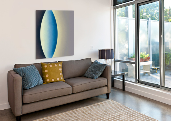 BLUE MOON JON WOODHAMS  Canvas Print
