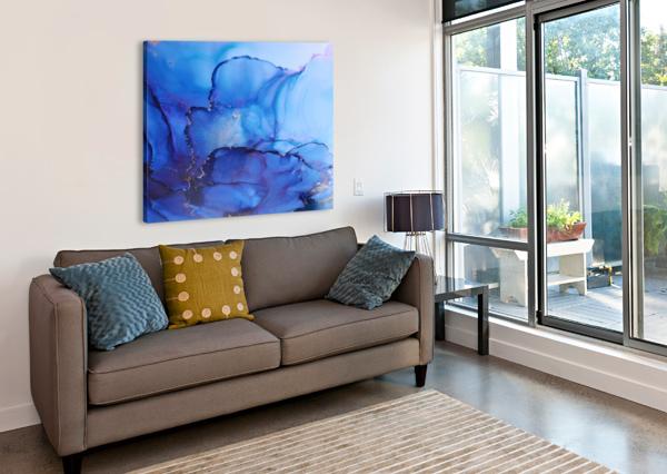 SUMMER FUN | CLOSE UP CHANTAL FORTIN  Canvas Print