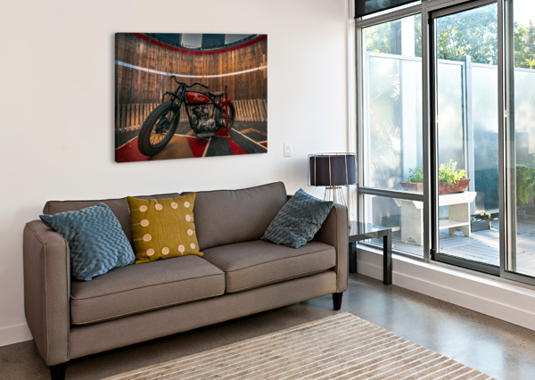 1927_INDIAN_SCOUT_MOTORCYCLE  SHAWN CONNORS DESIGNS  Canvas Print