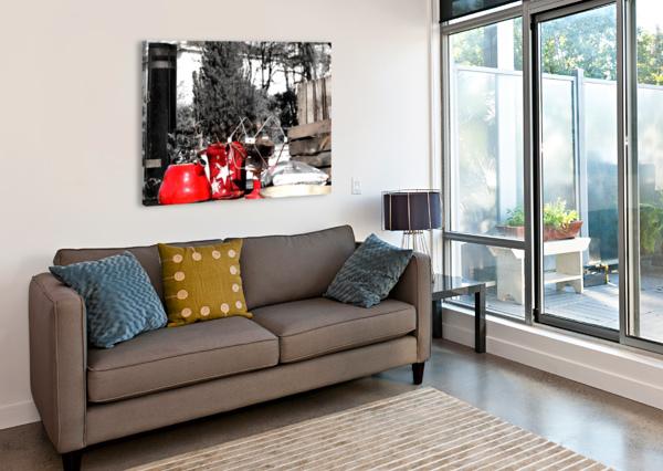 RED KETTLE BENTIVOGLIO PHOTOGRAPHY  Canvas Print