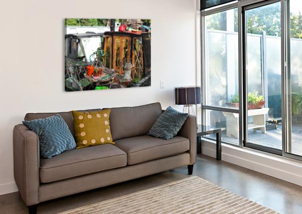 HOME SWEET HOME BENTIVOGLIO PHOTOGRAPHY  Canvas Print