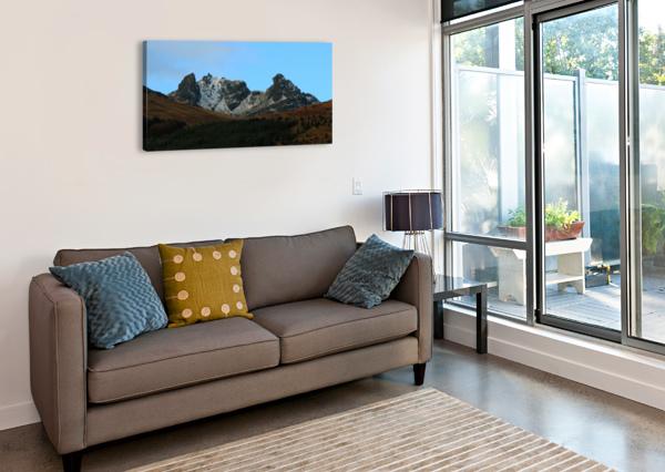THE COBLER  RONNIE B GOODWIN  Canvas Print