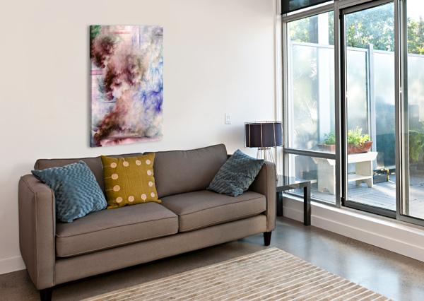CONNEG HFAA FRACTAL ART XZENDOR7  Canvas Print