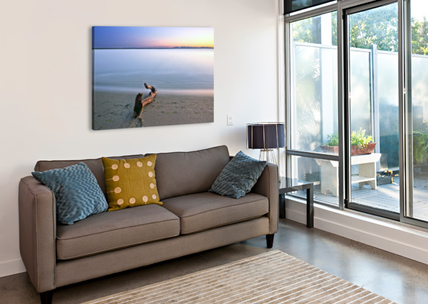 SERENE SUNSET AMAZING VANCOUVER & BEAUTIFUL BRITISH COLUMBIA BY JORGE LIGASON  Canvas Print