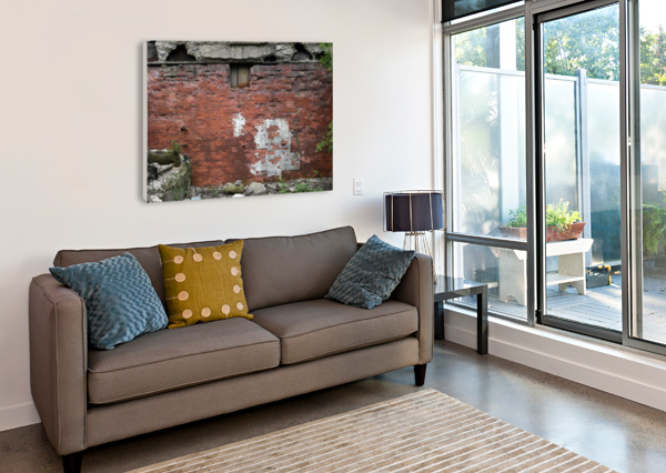 ANOTHER BRICK IN THE WALL BRENT LUKE AUGUSTUS  Canvas Print