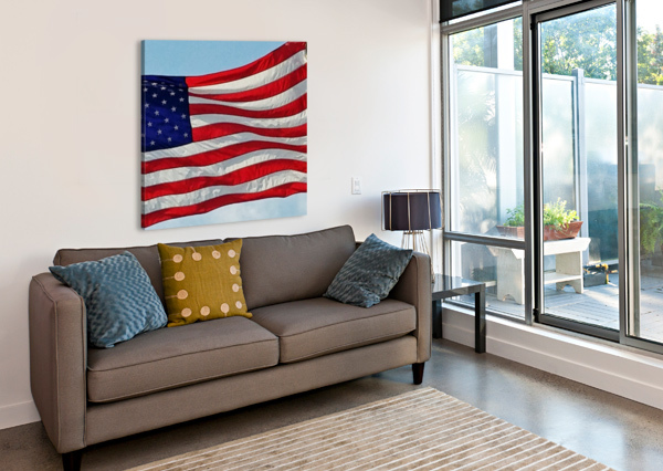 AMERICA THE BEAUTIFUL BAJ  Canvas Print