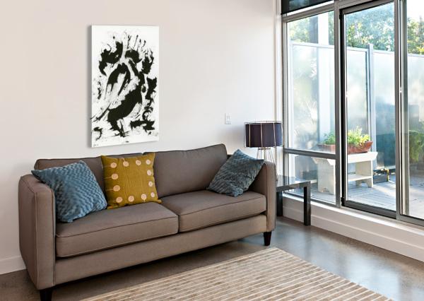 FIERCE ARIEL ASPENTREE  Canvas Print
