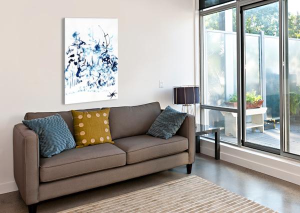 CARIBOU CROSSING ARIEL ASPENTREE  Canvas Print
