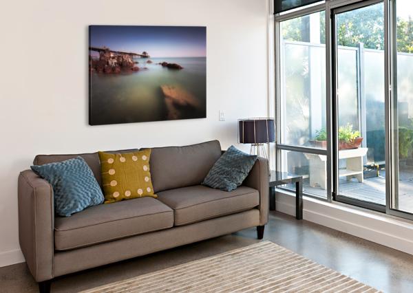 MUMBLES PIER SWANSEA LEIGHTON COLLINS  Canvas Print