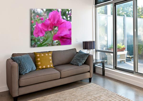 FLOWERS (47) NGANHONGTRUONG  Canvas Print