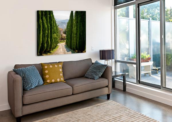 TUSCANY HOUSE FABIEN DORMOY  Canvas Print