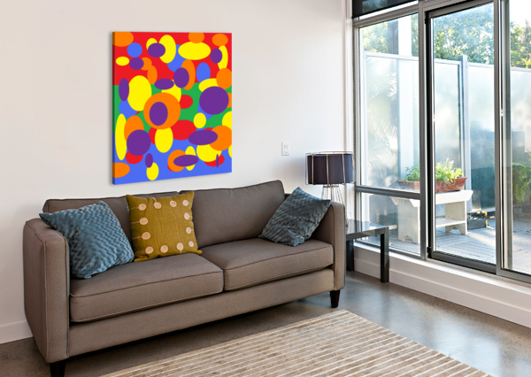 THIS IS A BEAUTIFUL DESIGN WITH GREAT COLOR, SHAPE, LINE, TEXTURE, SPACE AND VALUE.  (11) NGANHONGTRUONG  Canvas Print