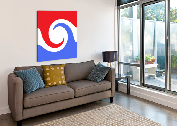 THIS IS A BEAUTIFUL DESIGN WITH GREAT COLOR, SHAPE, LINE, TEXTURE, SPACE AND VALUE.  (2) NGANHONGTRUONG  Canvas Print