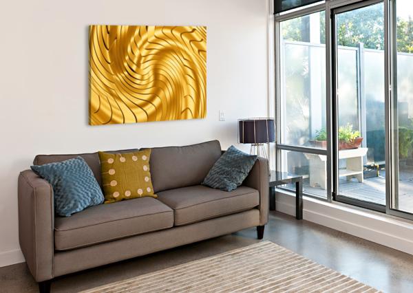 GOLDIE X V2.0 ART DESIGN WORKS  Canvas Print