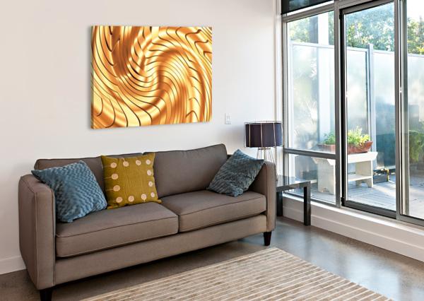 GOLDIE X V3.0 ART DESIGN WORKS  Canvas Print