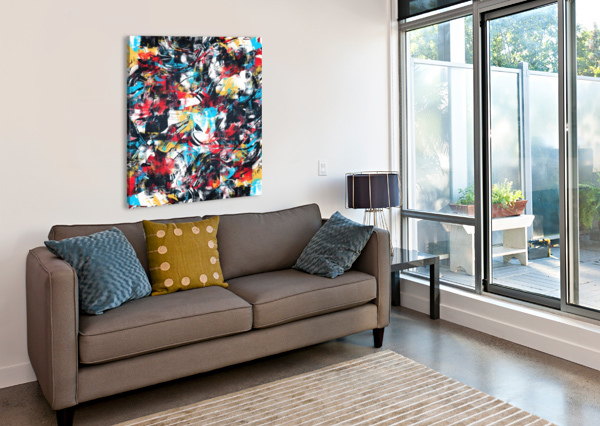 ABSTRACT FLOW II ART DESIGN WORKS  Canvas Print