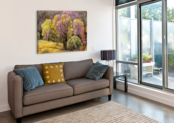 OUTDOOR NATURE NATURAL WOODS SHAMUDY  Canvas Print