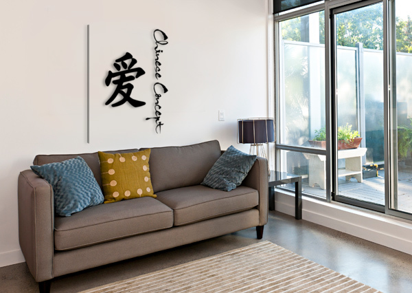 CHINESE CONCEPT 10A CHINESE CONCEPT  Impression sur toile