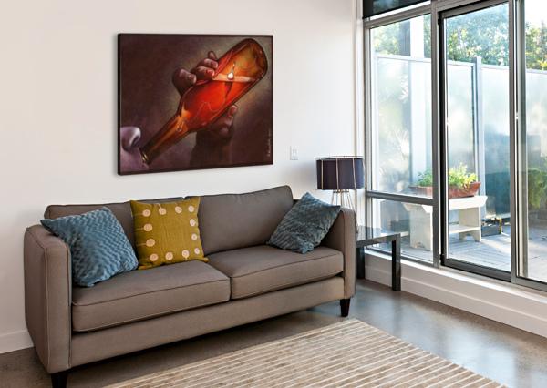 DRINK PAWEL KUCZYNSKI  Canvas Print